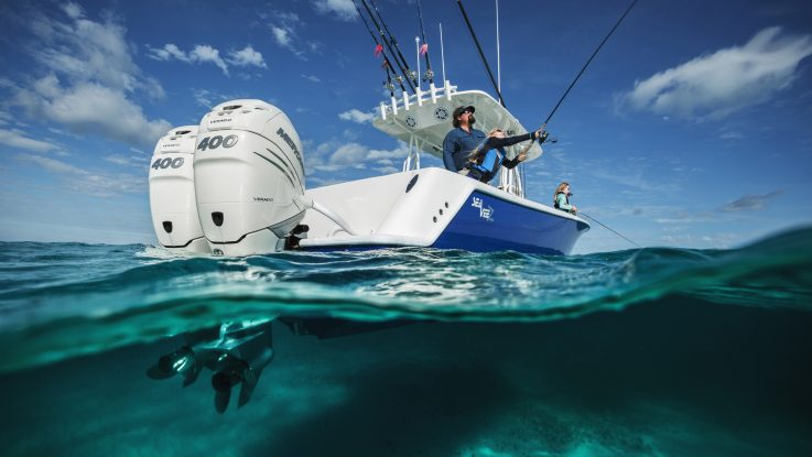 All-new 400hp Verado outboard!
