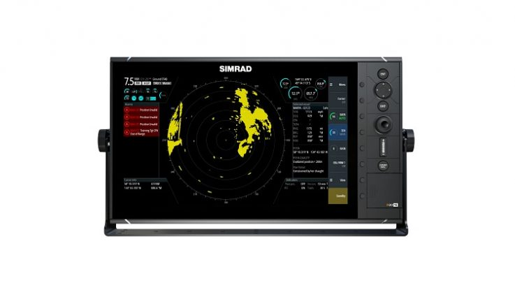 """The New Dedicated Simrad® 9"""" and 16"""" Fishfinder for the Commercial Fishing Market"""