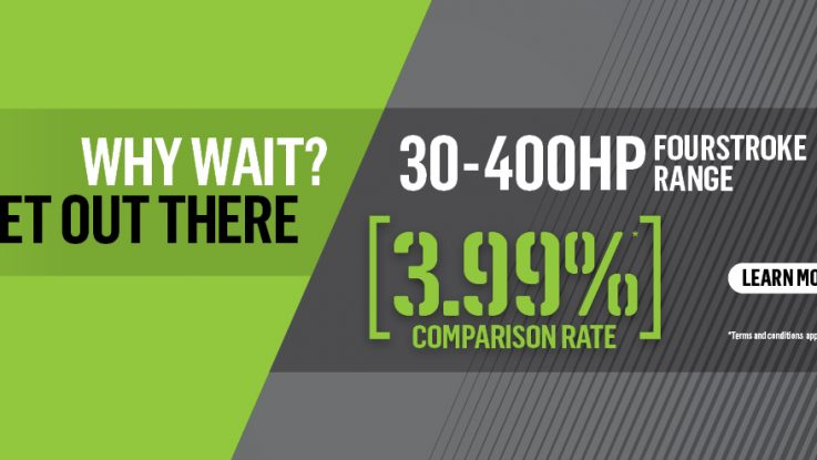 Repower now - with 3.99% Mercury Finance on FourStroke packages from 30-400hp!